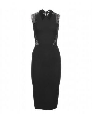 Victoria Beckham - Tailored Dress With Broderie Anglaise Trim.jpg