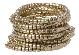 Gifts - Beaded Stretch Bracelet in Gold.jpg