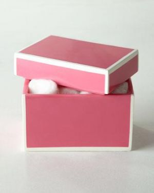 Gifts - Soho Lidded Box - Kassatex pink.jpg