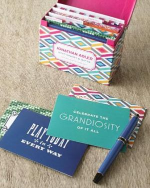 Gifts for men - Jonathan Adler All-Occasion Notecard Set.jpg