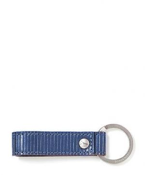 Gifts for men - Ridged Leather Loop Key Fob Jack Spade.jpg