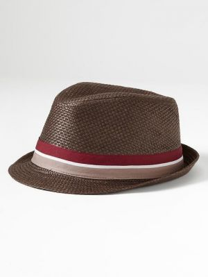 Gifts for men - Banana Republic Straw Fedora - Coffee.jpg