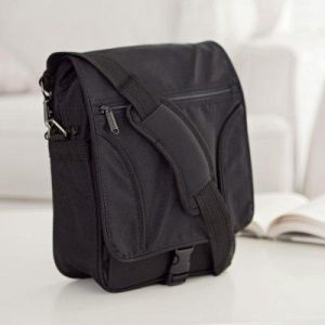 Gifts for men - E-Sling Netbook Messenger Bag - Black.jpg