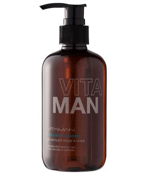 Gifts for men - Mens Grooming Face And Body Cleanser White One.jpg