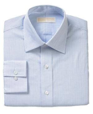 Gifts for men - Michael Michael Kors Dress Shirt Blue Check.jpg
