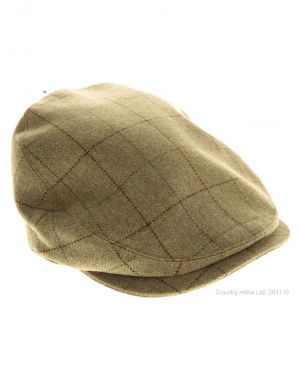 Gifts for men - Barbour Mens Sporting Tweed Cap - Green Check.jpg