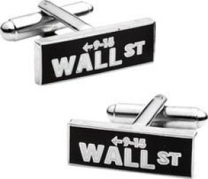 Gifts for men - Cufflinks Inc - Vintage Wall Street Cufflinks - Black.jpg