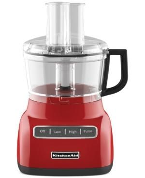 Gifts for men - Red KitchenAid KFP0711 Food Processor.jpg