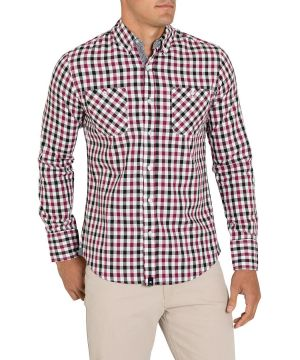 Gifts for men - Shirts St Goliath Red Woods Check.jpg