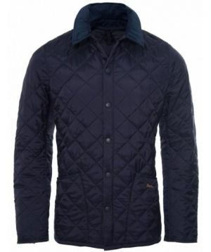Gifts for men - Barbour Heritage Liddesdale Navy Quilted Jacket.jpg