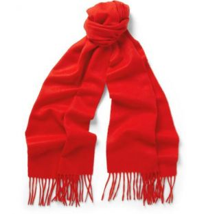 Gifts for men - J Crew Cashmere Scarf red.jpg
