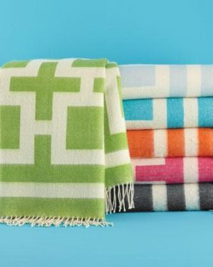 Gifts for men - Jonathan Adler Charcoal Nixon Throw.jpg