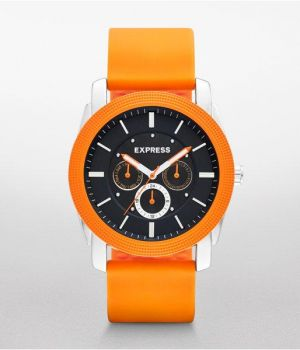Mens Rivington Multi-function Watch - Orange Orange.jpg