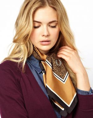 Gifts - Fred Perry Leopard Print Scarf.jpg