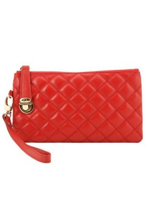 Gifts - Oasap Sheepskin Diamond Check Quilted Clutch.jpg