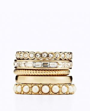 Gifts for women - Ann Taylor Modern Classic Ring Set.jpg