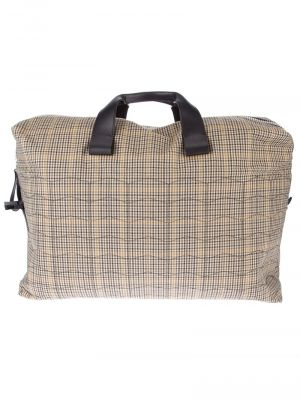 LANVIN plaid holdall bag.jpg