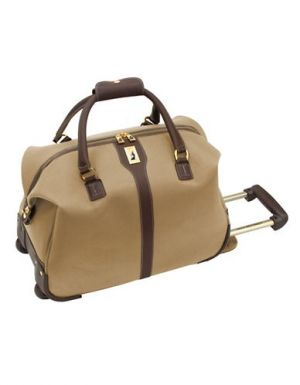 LONDON FOG Knightsbridge Ii Wheel Club Bag 20 Inch beige Size 20.jpg
