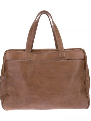 MAISON MARTIN MARGIELA back pack holdall - brown bag.jpg