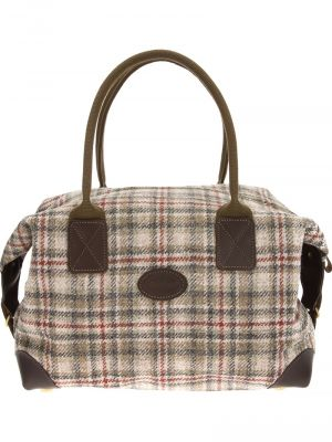 NOMAD Callanish tweed holdall overnight bag.jpg
