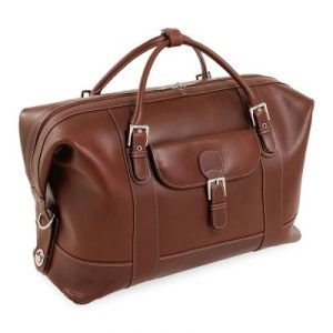 Overnight bag - Siamod Amore Leather Duffel Bag - Cognac.jpg