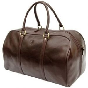 Quindici Cabin Holdall QVB513 Brown weekender overnight bag.jpg