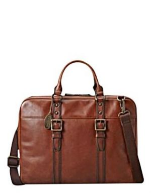 Weekender - Fossil - Estate Document Bag - Cognac.jpg