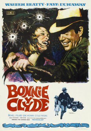 Films with fashion influence - 1967 Bonnie and Clyde poster.jpg