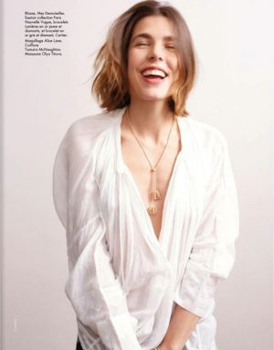 ROYALTY: Charlotte Casiraghi by Cass Bird for Elle France May 2013