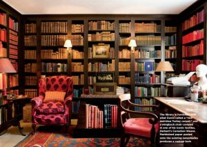 At home with India Hicks in Oxfordshire - Library.jpg