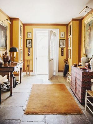 FAMOUS FOLK AT HOME India Hicks and her mother Lady