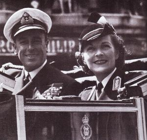 Lord and Lady Louis Mountbatten later the Earl and Countess of Burma.jpg