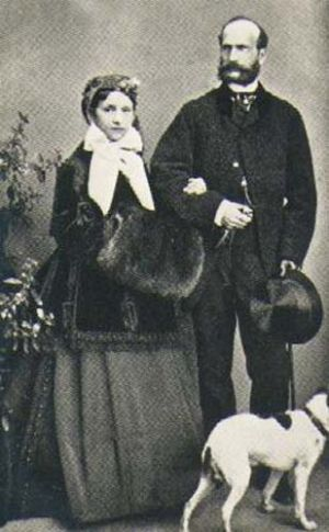 Prince Alexander of Hesse and Julia Hauke later Princess Julia of Battenberg.jpg