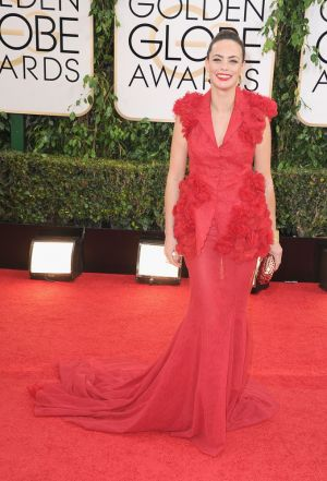 2014 Golden Globes - Red Carpet - Berenice Bejo