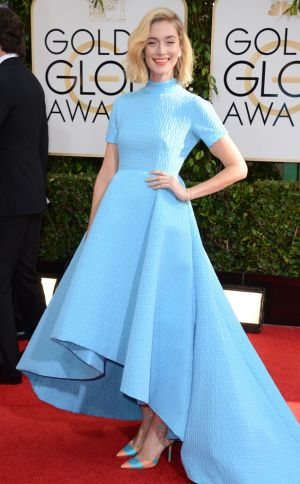 2014 Golden Globes - Red Carpet - Caitlin FitzGerald in Emilia Wickstead