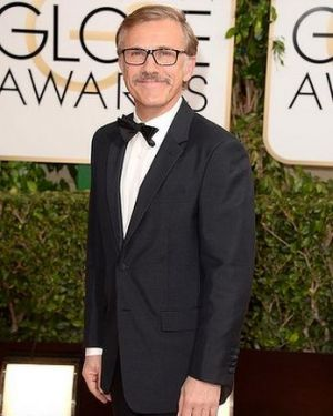 2014 Golden Globes - Red Carpet - Christoph Waltz