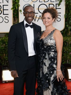 2014 Golden Globes - Red Carpet - Don Cheadle and Bridgid Coulture