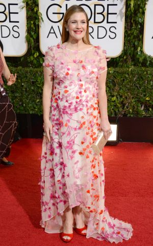 2014 Golden Globes - Red Carpet - Drew Barrymore