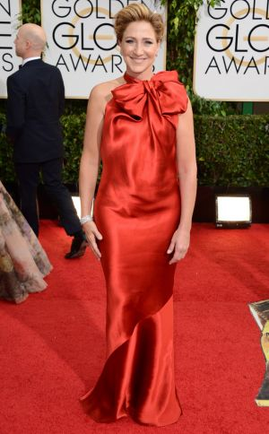 2014 Golden Globes - Red Carpet - Edie Falco
