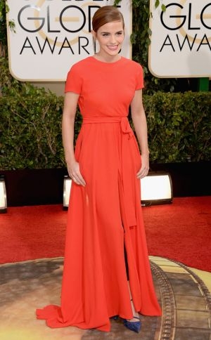 2014 Golden Globes - Red Carpet - Emma Watson