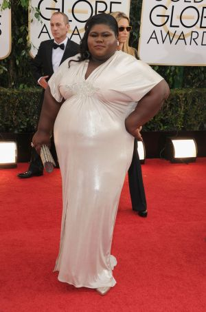 2014 Golden Globes - Red Carpet - Gabourey Sibide