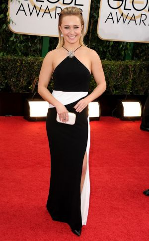 2014 Golden Globes - Red Carpet - Hayden Panettiere in Tom Ford