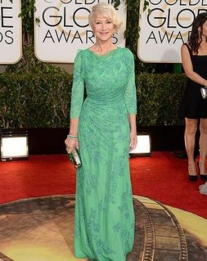 2014 Golden Globes - Red Carpet - Helen Mirren