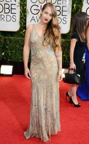 2014 Golden Globes - Red Carpet - Jemima Kirke