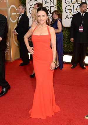 2014 Golden Globes - Red Carpet - Julia Louis-Dreyfus