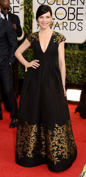 2014 Golden Globes - Red Carpet - Julianna Margulies