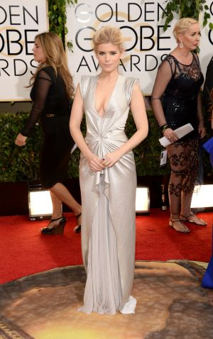 2014 Golden Globes - Red Carpet - Kate Mara