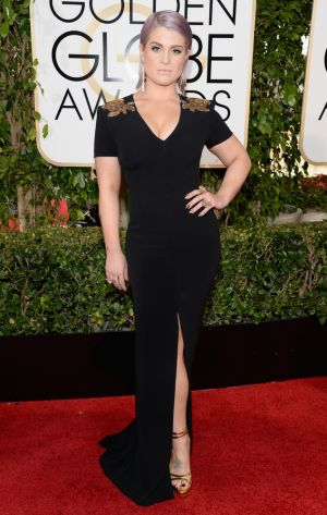2014 Golden Globes - Red Carpet - Kelly Osbourne in Escada