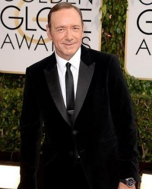 2014 Golden Globes - Red Carpet - Kevin Spacey