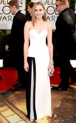 2014 Golden Globes - Red Carpet - Laura Carmichael